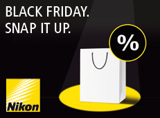 Nikon Europe Black Friday - Social Media Advertising